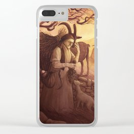 Vesna - A Compendium of Witches Clear iPhone Case