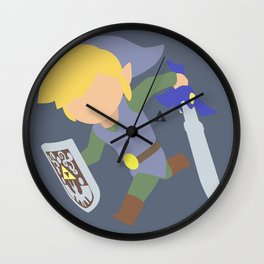 Toon Link(Smash)Silver Wall Clock