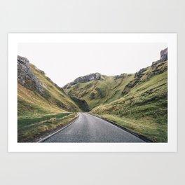 Castleton in the Peak District Art Print