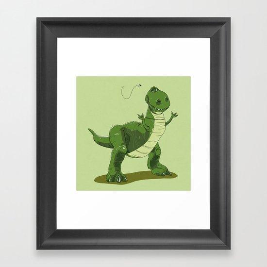 """""""Give me a Longer Hand!"""" Framed Art Print"""
