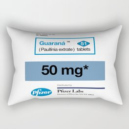 Kitchen Posters - Viagra/Guarana Rectangular Pillow