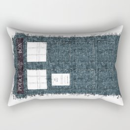 The Timey Wimey of Doctor Who Rectangular Pillow