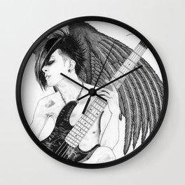Winged Tomo Wall Clock