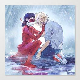Ladrien under the rain Canvas Print