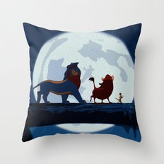 Lion King Stylish Painting Throw Pillow