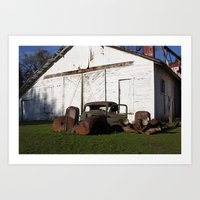 truck Art Prints featuring Truck by joefoto