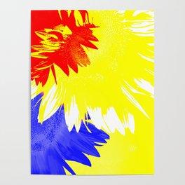 Flora Abstracta Poster