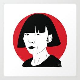 Rei Kawakubo Art Print