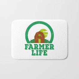 Farmer Life Earth Day 2019 Bath Mat