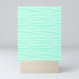 Zebra Print - Sugar Mint Mini Art Print