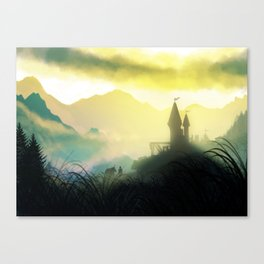 The Mountain Pass Canvas Print