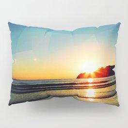 Triangle at Sunset Pillow Sham