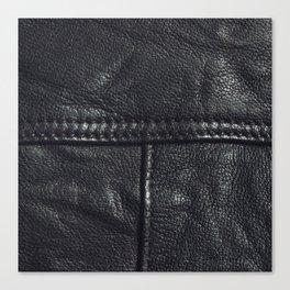 Leather texture Canvas Print
