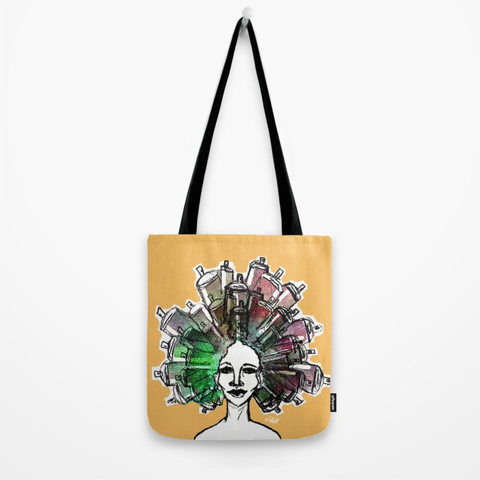 Paint the town Tote Bag