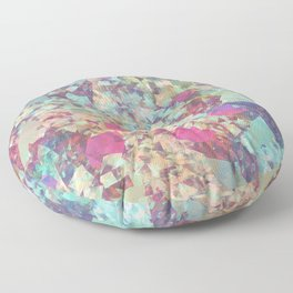 Spaced Geometric Floor Pillow