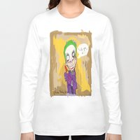 "suits Long Sleeve T-shirts featuring The Joker"" suits you sir "" by Funki monkey animation studio"