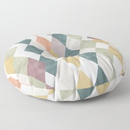 Rhombuses 2 Floor Pillow