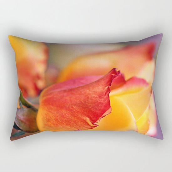Romantic rose(3) Rectangular Pillow