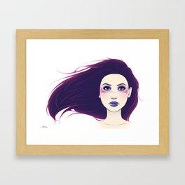 Shadow Queen Framed Art Print
