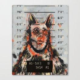 Waldick Dogman Canvas Print