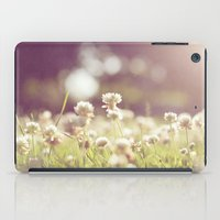 clover iPad Cases featuring Clover by laughlovephoto