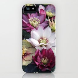 Christmas Spring Flower Floral Flora Eclectic Mix Color iPhone Case