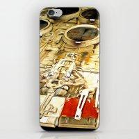 millenium falcon iPhone & iPod Skins featuring Millenium Falcon Body by Ewan Arnolda