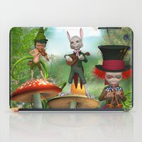 concert iPad Cases featuring Night Concert by Simone Gatterwe