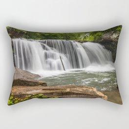 Mill Creek Falls, Ansted, West Virginia Rectangular Pillow
