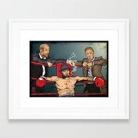 snatch Framed Art Prints featuring SNATCH  by Juan Pablo Fertitta