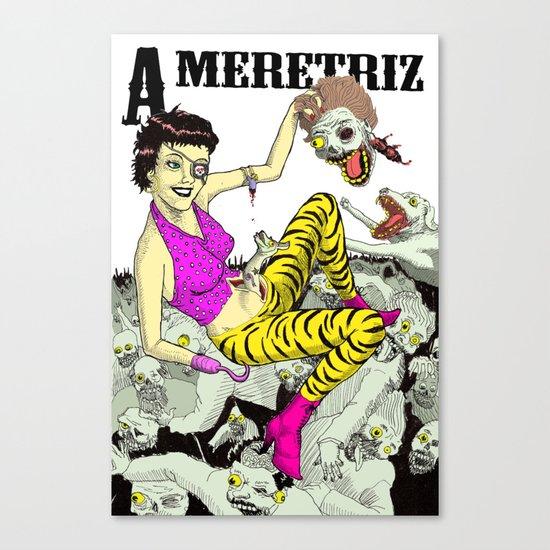 A meretriz Canvas Print