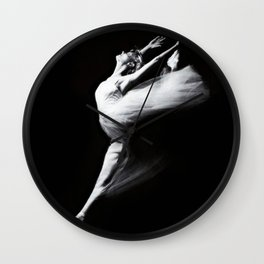 Dancer in motion ... Wall Clock