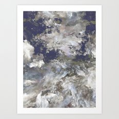 Particular Clouds Art Print