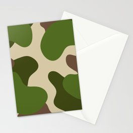 Camouflage Pattern (Camo) Stationery Cards