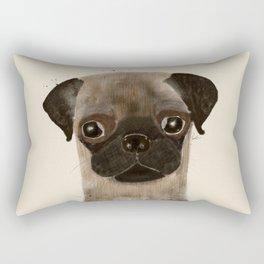 little pug Rectangular Pillow