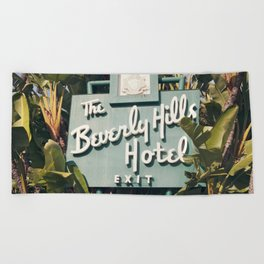 Beverly Hills Hotel Beach Towel