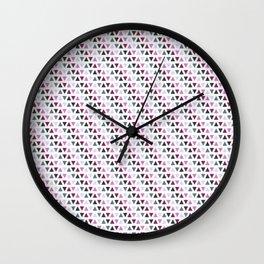 Small triangle pattern Wall Clock