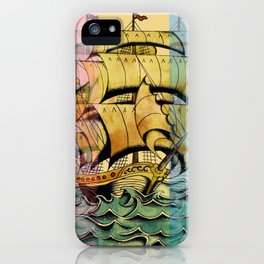 Adventure Begins iPhone Case