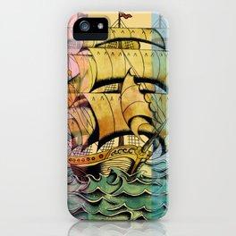 Adventure Begins iPhone Case