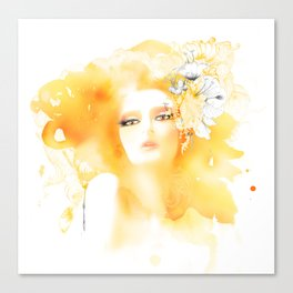 fashion illustration Canvas Print