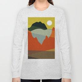Geometric Landscape XI Long Sleeve T-shirt