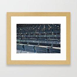 fenway grandstand Framed Art Print