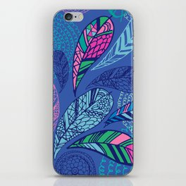 Feather Doodle iPhone Skin