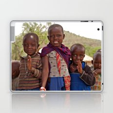 Maasai Children Laptop & iPad Skin