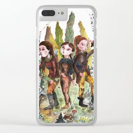 Sarmatian sisters Clear iPhone Case