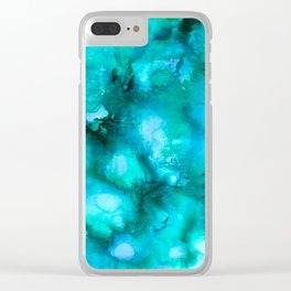 Cool & Calm Waters Clear iPhone Case