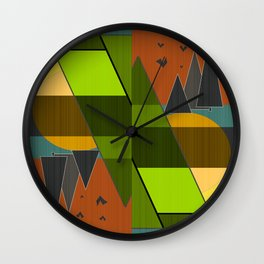 Abstraction. Wall Clock