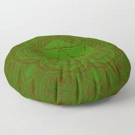 Natural 20 Mandala Woodland Stride Floor Pillow