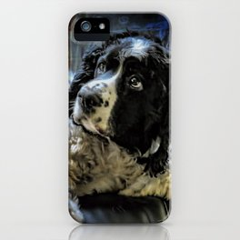 Hunter The Sprocker iPhone Case
