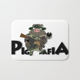 Pig Mafia Bath Mat
